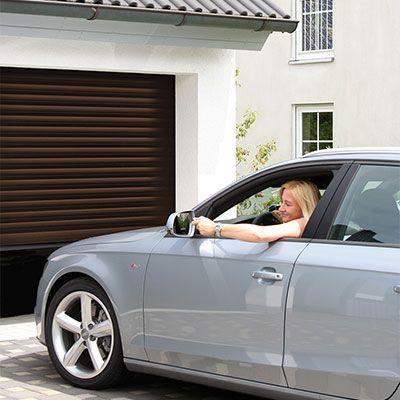 Роллетные гаражные ворота «АЛЮТЕХ» серия Trend